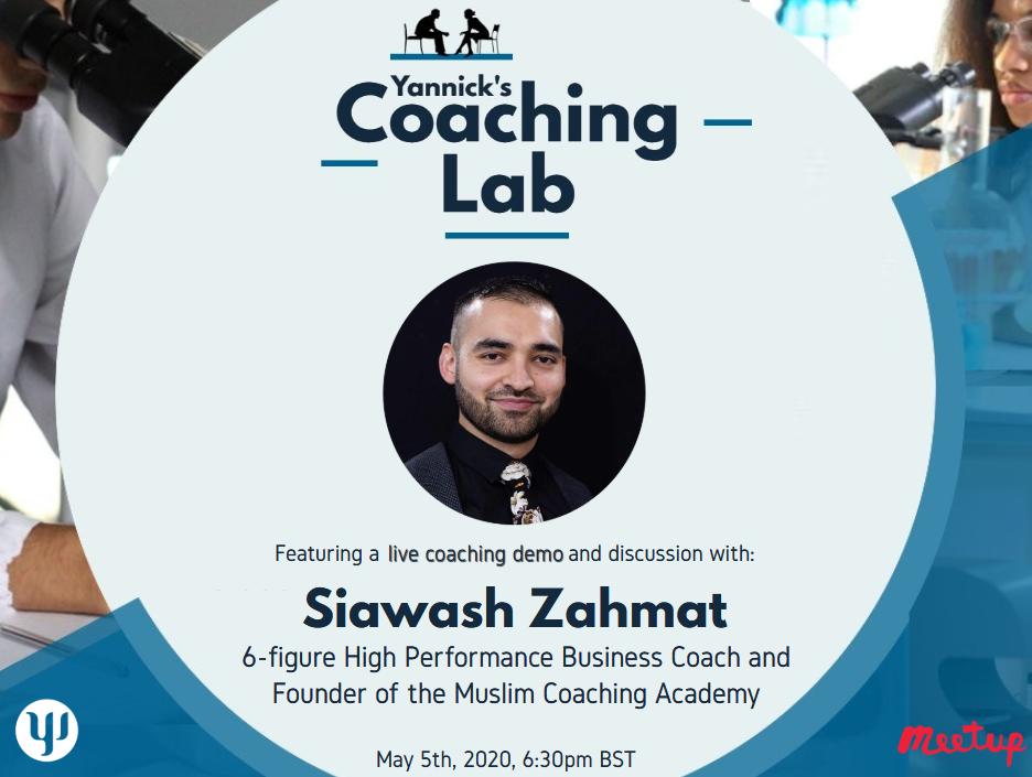 Business Coaching, Siawash Zahmat, Yannick's Coaching Lab