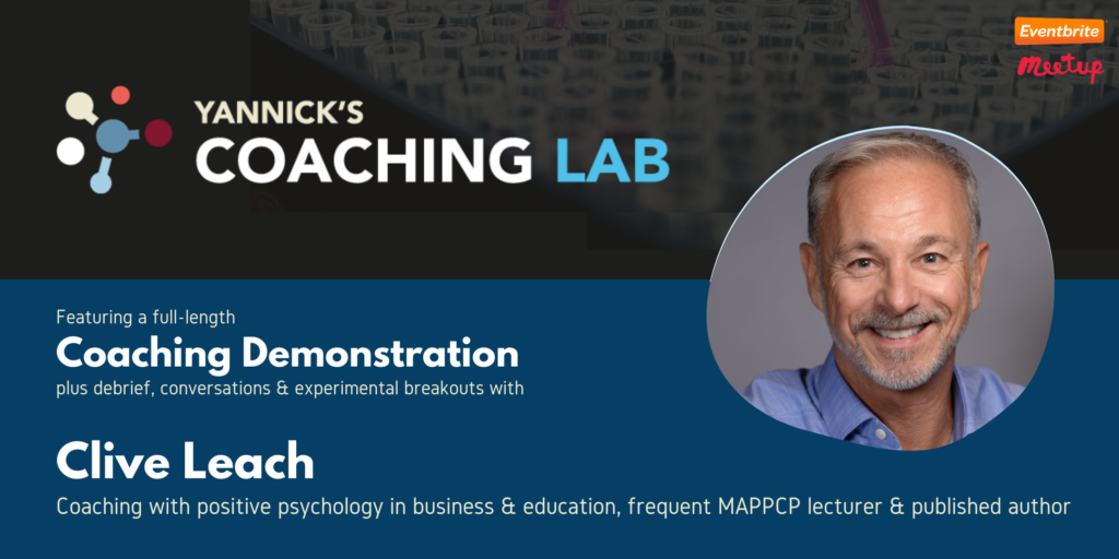 PERMA Coaching, Clive Learch, Yannick's Coaching Lab